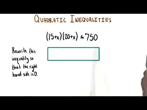 Simplify Inequality - College Algebra thumbnail