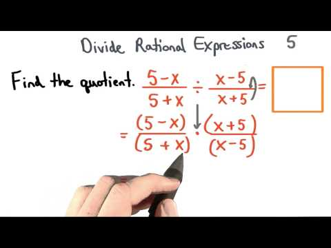 Divide Rational Expressions 5 - Visualizing Algebra thumbnail