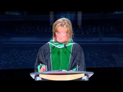 Convocation 2015 - President Cheryl Jensen thumbnail
