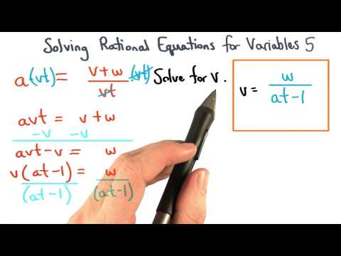 Solving Formulas Practice 5 - Visualizing Algebra thumbnail