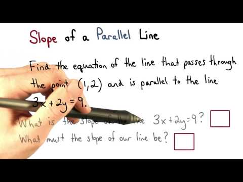 Slope of a Parallel Line - Visualizing Algebra thumbnail