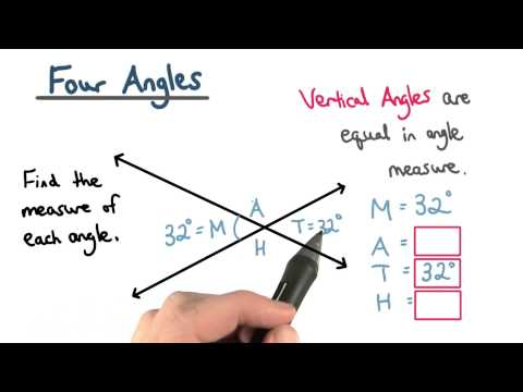 Vertical Angles - Visualizing Algebra thumbnail