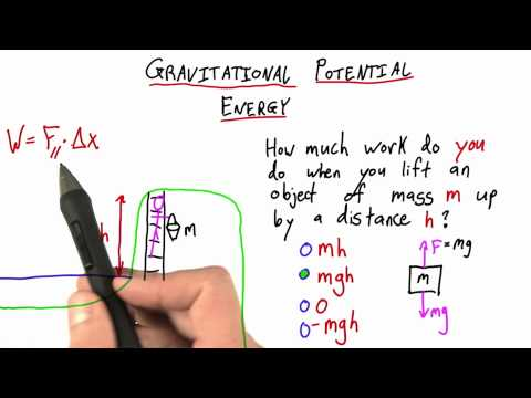 06-41 Gravitational Potential Energy thumbnail