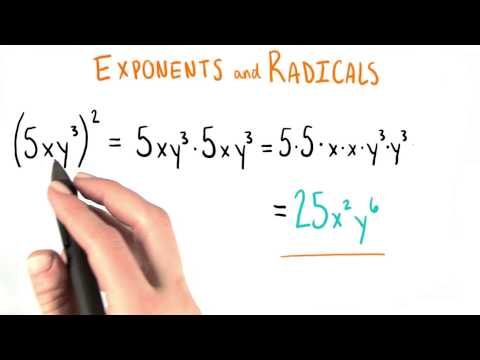 Back To Exponents - College Algebra thumbnail