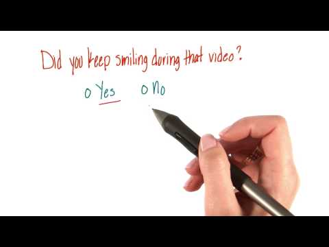Did you keep smiling - Intro to Psychology thumbnail