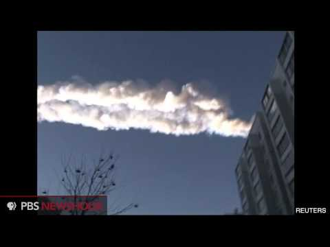 Meteor Blows Out Windows and Injures Hundreds in Siberia thumbnail