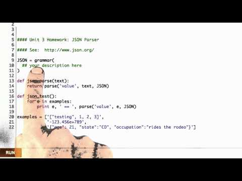 Json Parser - Design of Computer Programs thumbnail