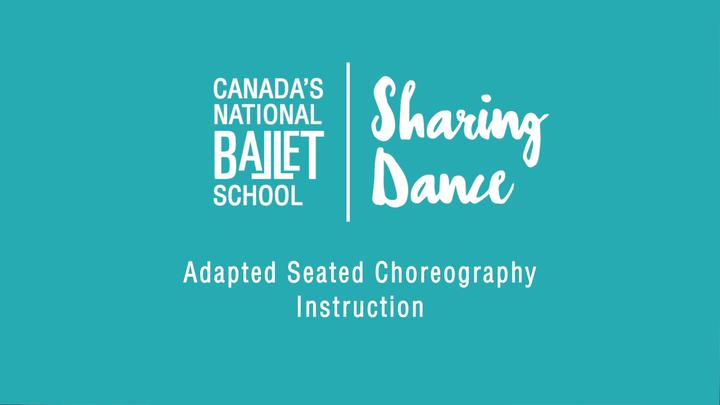 Adapted Seated Choreography Instruction