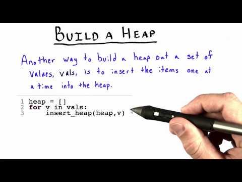 Build a Heap - Intro to Algorithms thumbnail