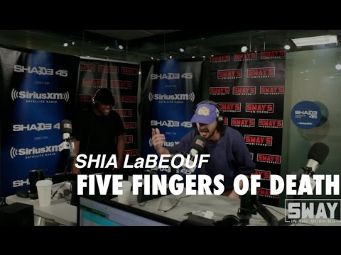 #1 MC in Hollywood: Shia LaBeouf Freestyles 5 Fingers of Death with Oswin Benjamin thumbnail