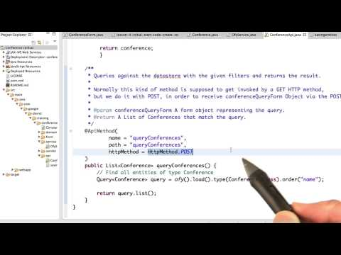 Query For All Conferences - Developing Scalable Apps with Java thumbnail
