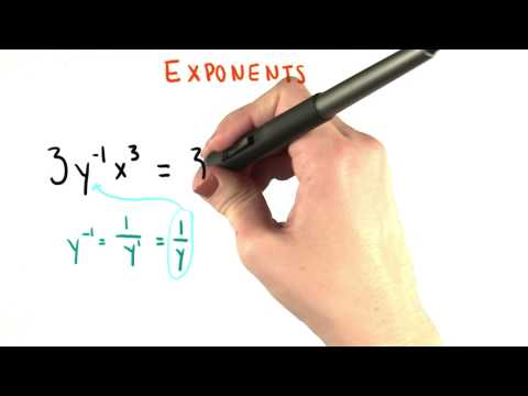 No Negative Exponents - College Algebra thumbnail