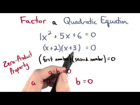 Quadratic Equation Solved - Visualizing Algebra thumbnail
