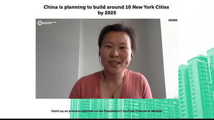 China is planning to build around 10 New York Cities by 2025