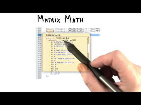 Matrix Math - Interactive 3D Graphics thumbnail