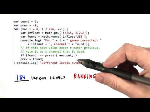 Gamma Banding - Interactive 3D Graphics thumbnail