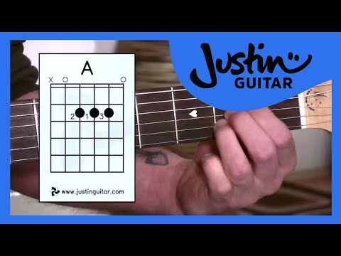 The A Chord (Guitar Lesson BC-112) Guitar for beginners Stage 1  thumbnail