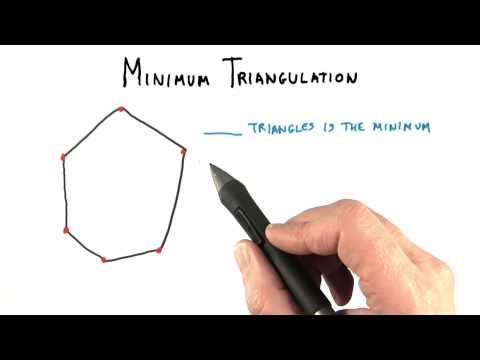 Minimum Triangulation - Interactive 3D Graphics thumbnail