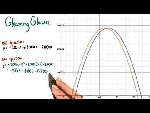Moving Parabolas - College Algebra thumbnail
