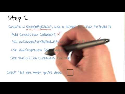 Google API Client thumbnail