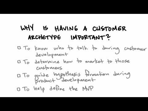 Importance Of Customer Archetype - How to Build a Startup thumbnail