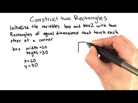 Constructing Rectangles - Intro to Java Programming thumbnail