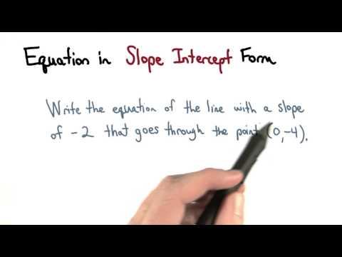 Slope Intercept Form - Visualizing Algebra thumbnail
