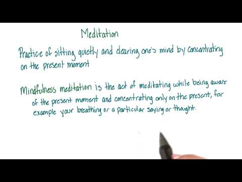 Meditation - Intro to Psychology thumbnail