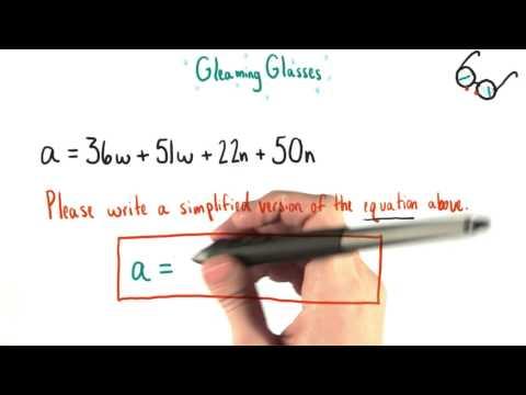 Grants Equation - College Algebra thumbnail