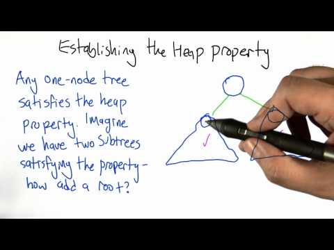 Establishing The Heap Property - Intro to Algorithms thumbnail