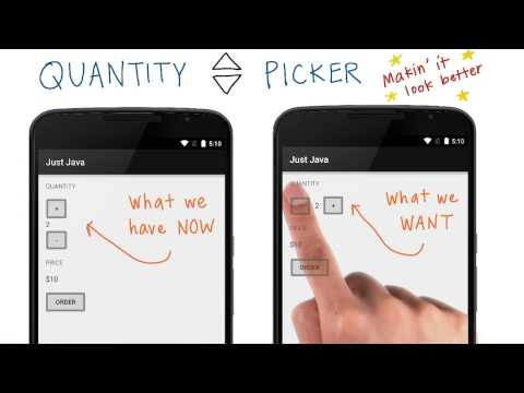 Plan How to Build the Quantity Picker thumbnail