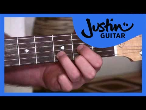 Anchor Fingers for A, D and E (Guitar Lesson BC-114) Guitar for beginners Stage 1  thumbnail