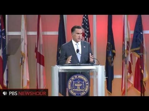 Watch Mitt Romney's Full Speech at NAACP National Convention thumbnail