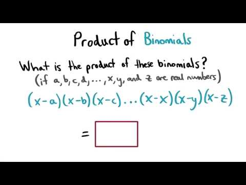 Zero Product Property - Visualizing Algebra thumbnail