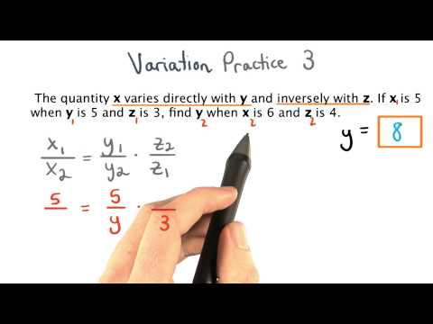Variation Practice 3 - Visualizing Algebra thumbnail