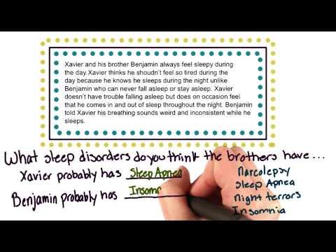 Sleep disorder question thumbnail