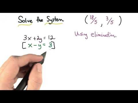 Elimination Practice - Visualizing Algebra thumbnail