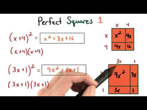 Perfect Squares 1 - Visualizing Algebra thumbnail