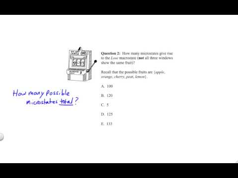 Intro 4.3 Entropy and Statistical Mechanics (Challenge Asnwers) thumbnail