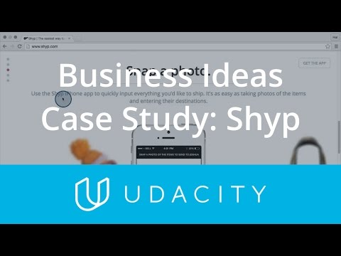 Case Study on Business Idea Types - Shyp  Product Design  Udacity thumbnail