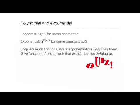 Computation in Complex Systems : Easy & Hard : BigO and All That Quiz2 thumbnail