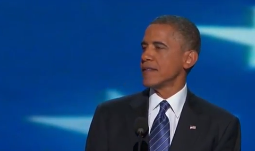Watch President Obama's DNC Speech: 'I Have Never Been More Hopeful About America' thumbnail