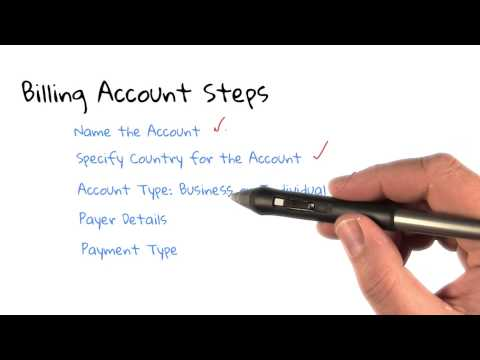 Steps to Create a Billing Account thumbnail