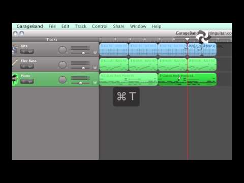 Garage Band #2: Using Loops to make backing tracks (Home Recording Techniques RT-202) thumbnail