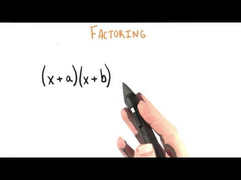 More Common Factors - College Algebra thumbnail