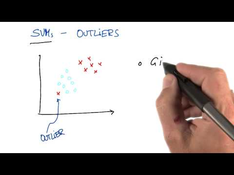 SVM Response to Outliers - Intro to Machine Learning thumbnail