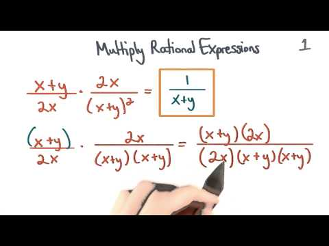 Multiply Rational Expressions 1 - Visualizing Algebra thumbnail