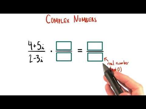 Make the Denominator Real - College Algebra thumbnail