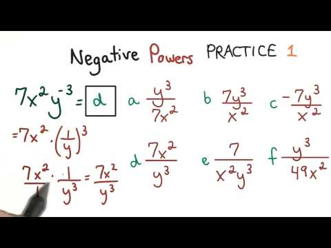 Negative Exponents 1 - Visualizing Algebra thumbnail