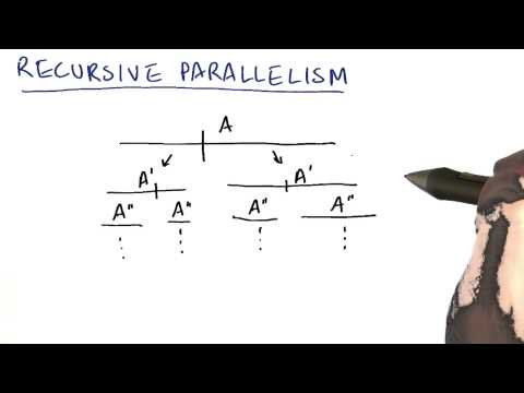 Recursive Parallelism - Intro to Parallel Programming thumbnail